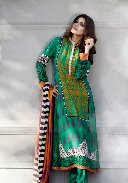 Latest Winter Fashion Long Shirts Dress Designs Collection for Women 2014-2015 (26)