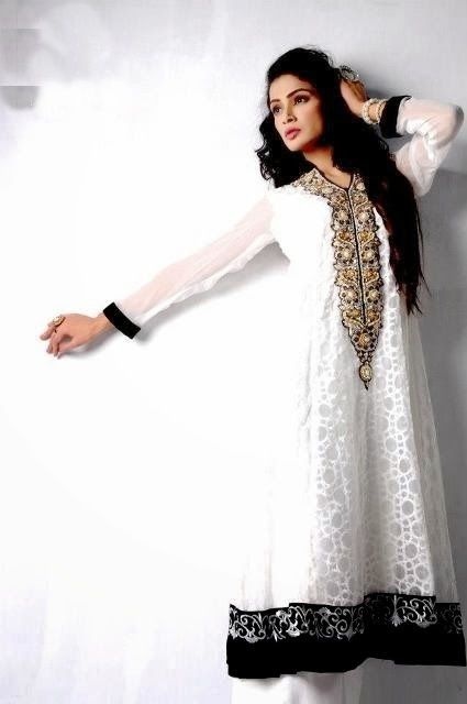 Latest Winter Fashion Long Shirts Dress Designs Collection for Women 2014-2015 (4)