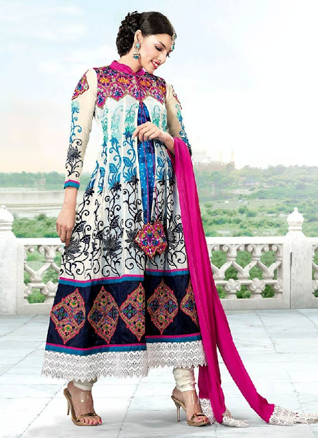 Latest Winter Fashion Long Shirts Dress Designs Collection for Women 2014-2015 (7)