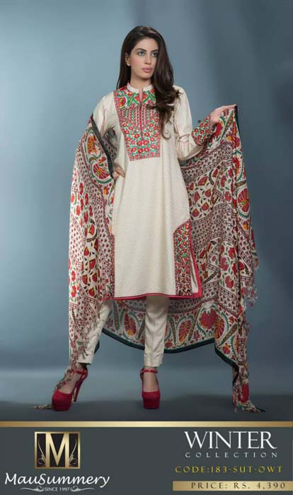Mausummery Fall winter Dresses Collection 2014-15 with Prices for women (16)
