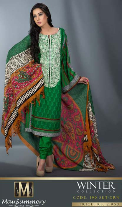 Mausummery Fall winter Dresses Collection 2014-15 with Prices for women (19)