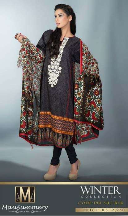 Mausummery Fall winter Dresses Collection 2014-15 with Prices for women (21)
