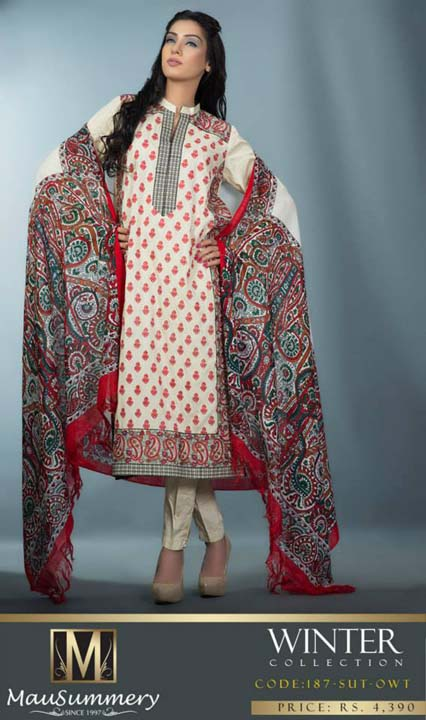 Mausummery Fall winter Dresses Collection 2014-15 with Prices for women (22)