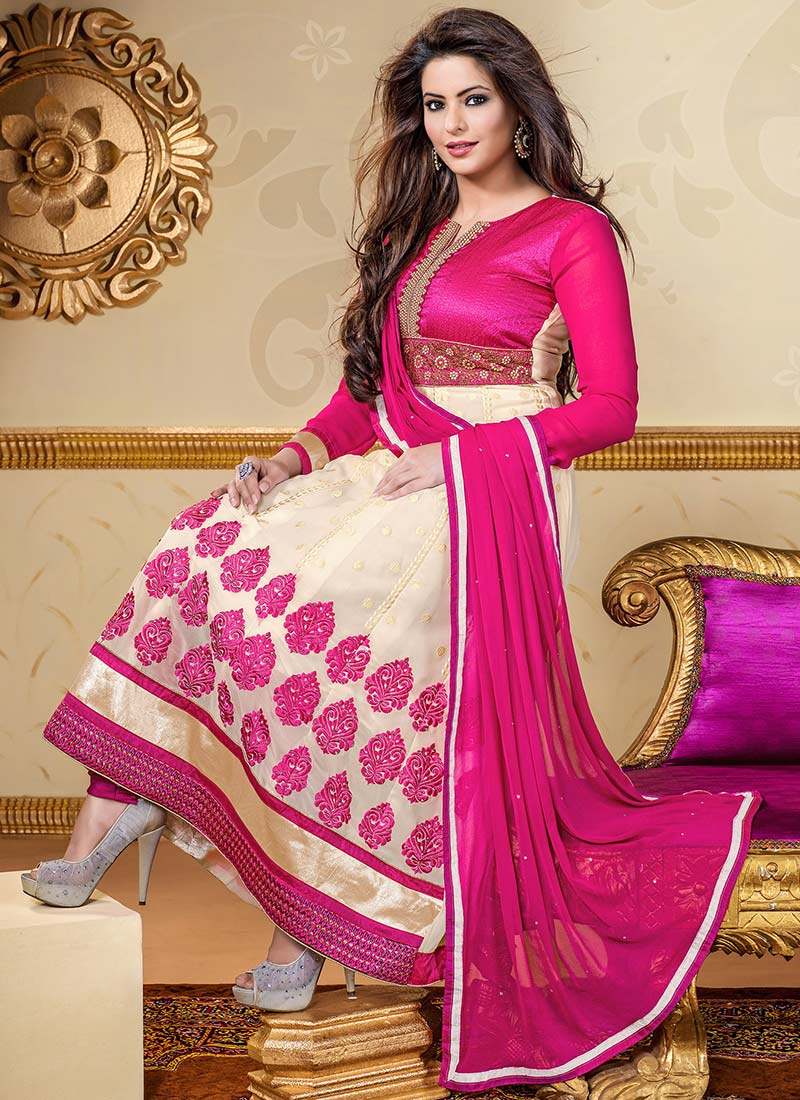 New Indian Kalidar Suits Salwar Kameez Dresses Collection for Girls 2014-2015 (12)