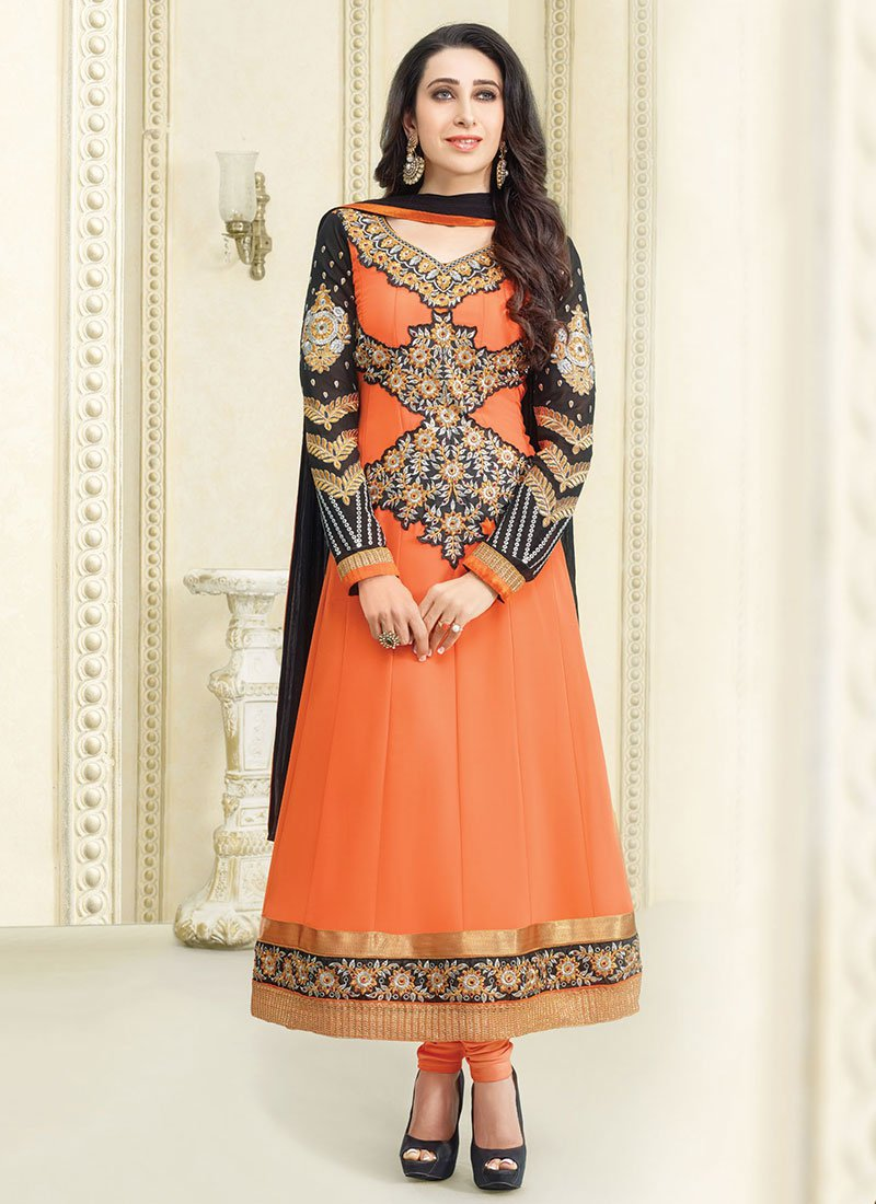 New Indian Kalidar Suits Salwar Kameez Dresses Collection for Girls 2014-2015 (20)