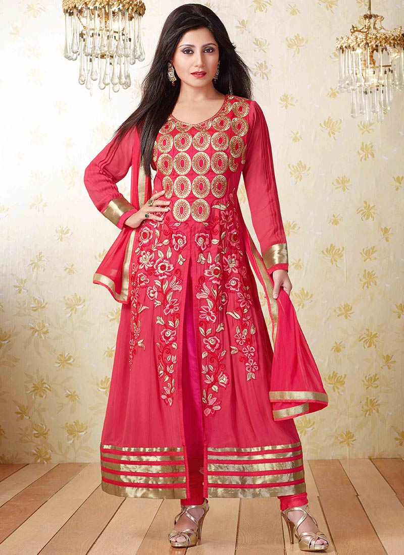 New Indian Kalidar Suits Salwar Kameez Dresses Collection for Girls 2014-2015 (22)