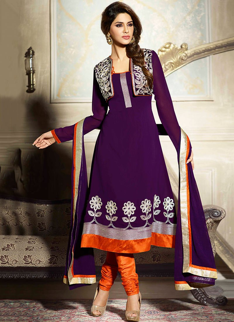 New Indian Kalidar Suits Salwar Kameez Dresses Collection for Girls 2014-2015 (23)