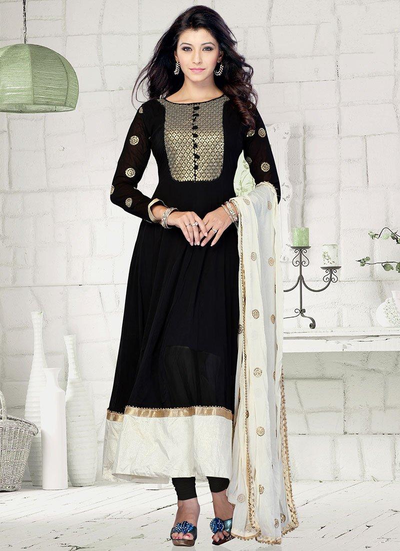 New Indian Kalidar Suits Salwar Kameez Dresses Collection for Girls 2014-2015 (7)