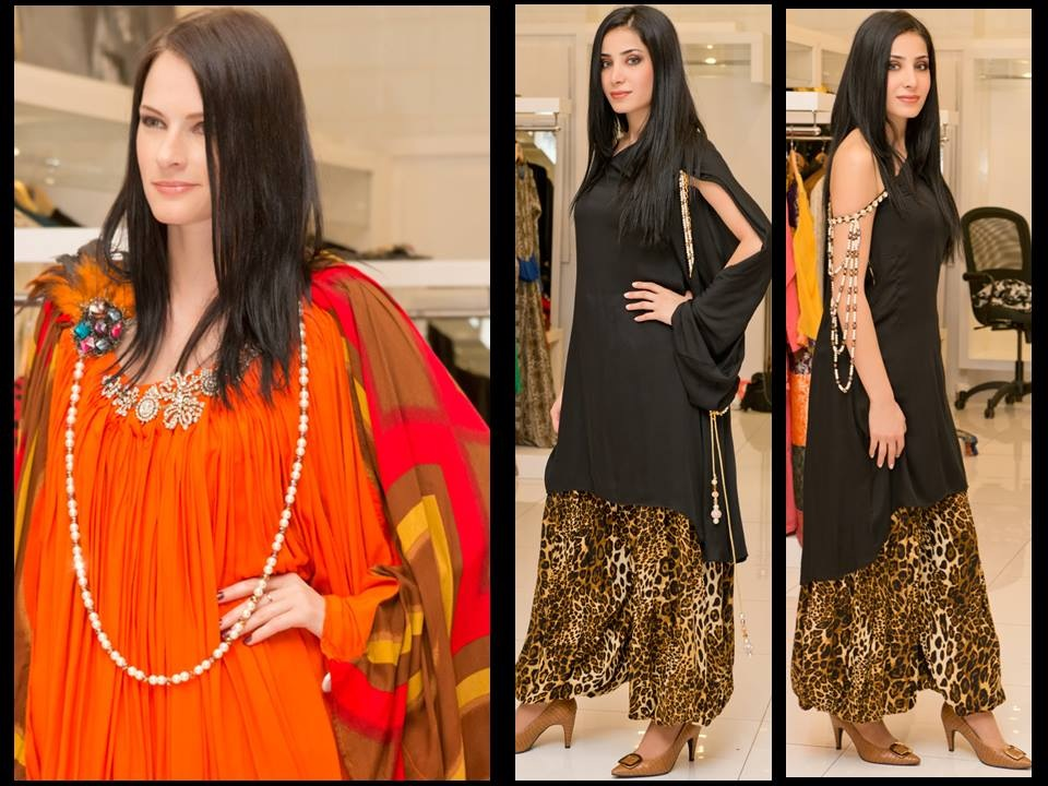 New Trends of Women Fashion Kurtis with Palazzo Pants in Asian Countries for Girls 2014-2015 (26)