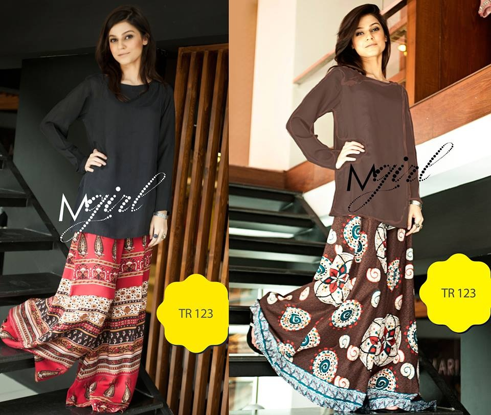 New Trends of Women Fashion Kurtis with Palazzo Pants in Asian Countries for Girls 2014-2015 (53)