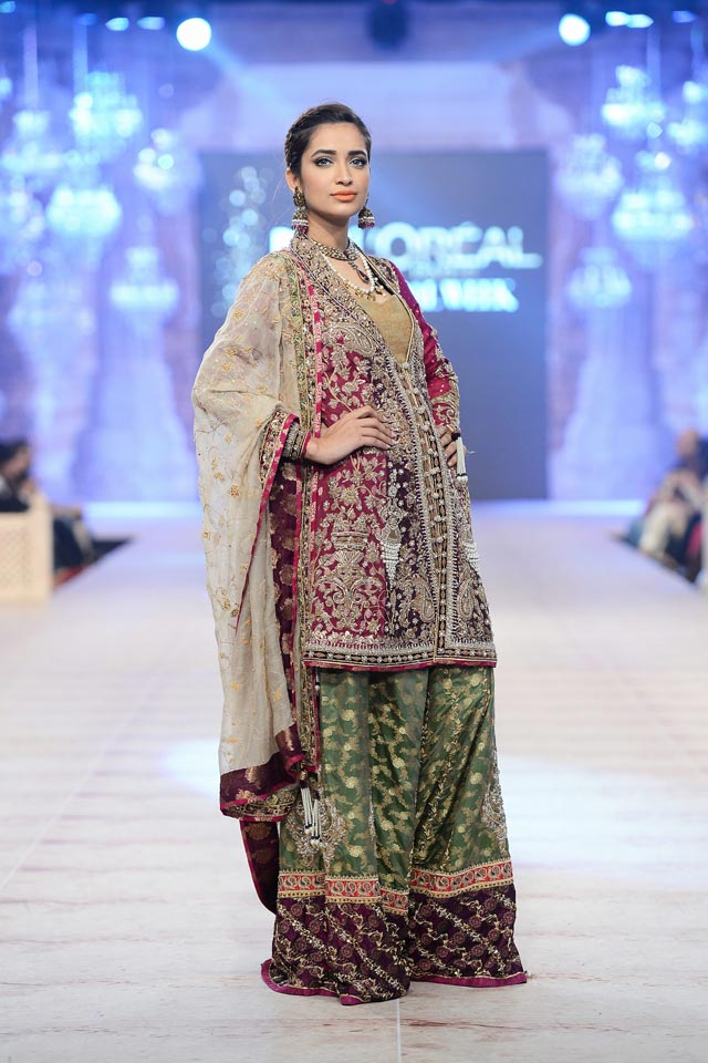 Nickie Nina Latest Bridal Collections at  PFDC L'Oréal Paris Bridal Fashion Week-2014-2015 (3)