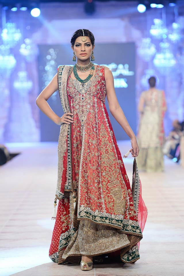 Nickie Nina Latest Bridal Collections at  PFDC L'Oréal Paris Bridal Fashion Week-2014-2015 (4)