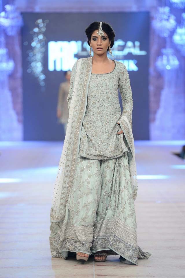 Nida Azwer Latest Bridal Collections at  PFDC L'Oréal Paris Bridal Fashion Week-2014-2015 (1)