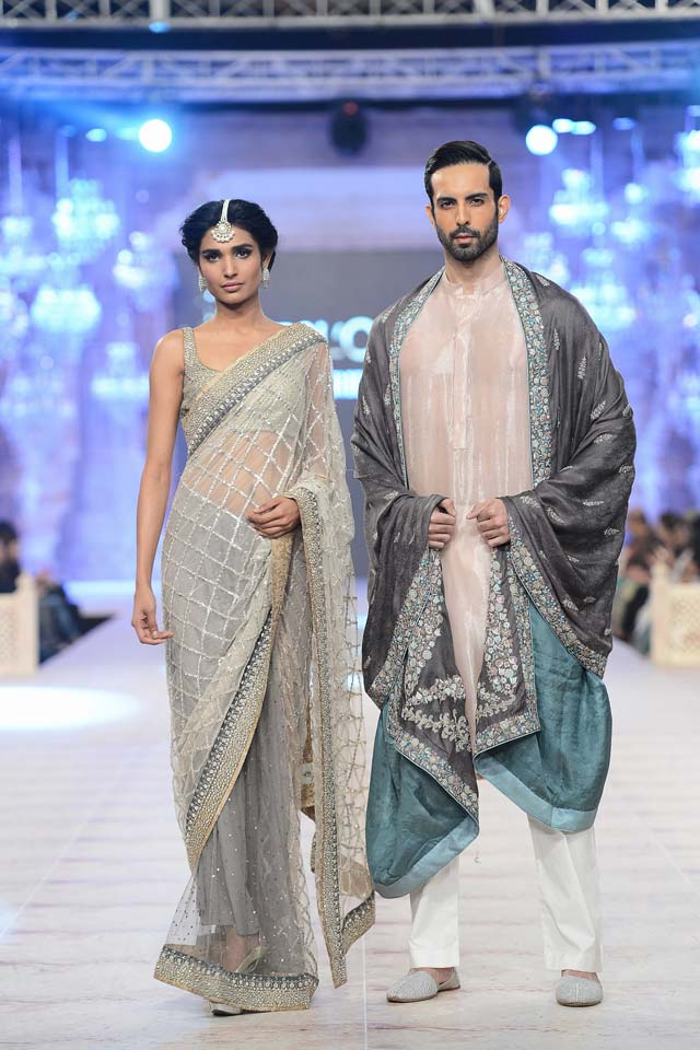 Nida Azwer Latest Bridal Collections at  PFDC L'Oréal Paris Bridal Fashion Week-2014-2015 (4)