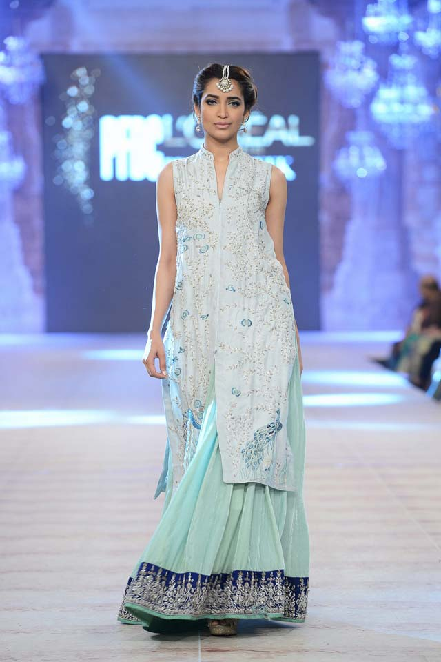 Nida Azwer Latest Bridal Collections at  PFDC L'Oréal Paris Bridal Fashion Week-2014-2015 (5)