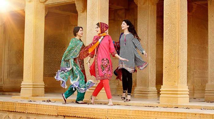 Nishat Linen Latest Winter Dresses Collection for Women 2014-2015 (1)