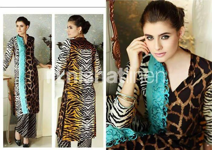 Nishat Linen Latest Winter Dresses Collection for Women 2014-2015 (21)