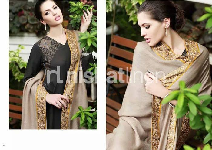 Nishat Linen Latest Winter Dresses Collection for Women 2014-2015 (24)