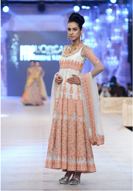 Nomi Ansari Latest Wedding Collections at  PFDC L'Oréal Paris Bridal Fashion Week-2014-2015 (2)