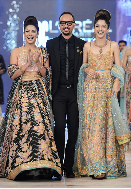 Nomi Ansari Latest Wedding Collections at  PFDC L'Oréal Paris Bridal Fashion Week-2014-2015 (3)