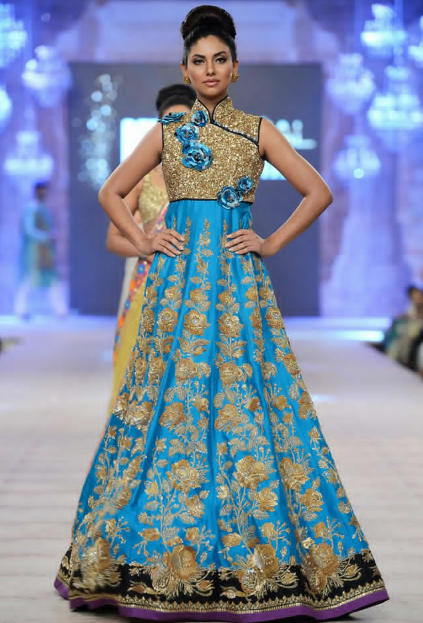 Nomi Ansari Latest Wedding Collections at  PFDC L'Oréal Paris Bridal Fashion Week-2014-2015 (4)