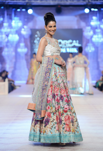 Nomi Ansari Latest Wedding Collections at  PFDC L'Oréal Paris Bridal Fashion Week-2014-2015 (5)