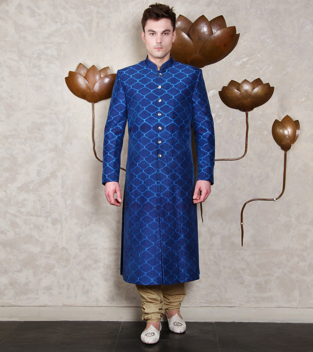Rajesh Pratap Singh Top Indian Sherwani Designers Best Collection for Weddings and Parties (1)