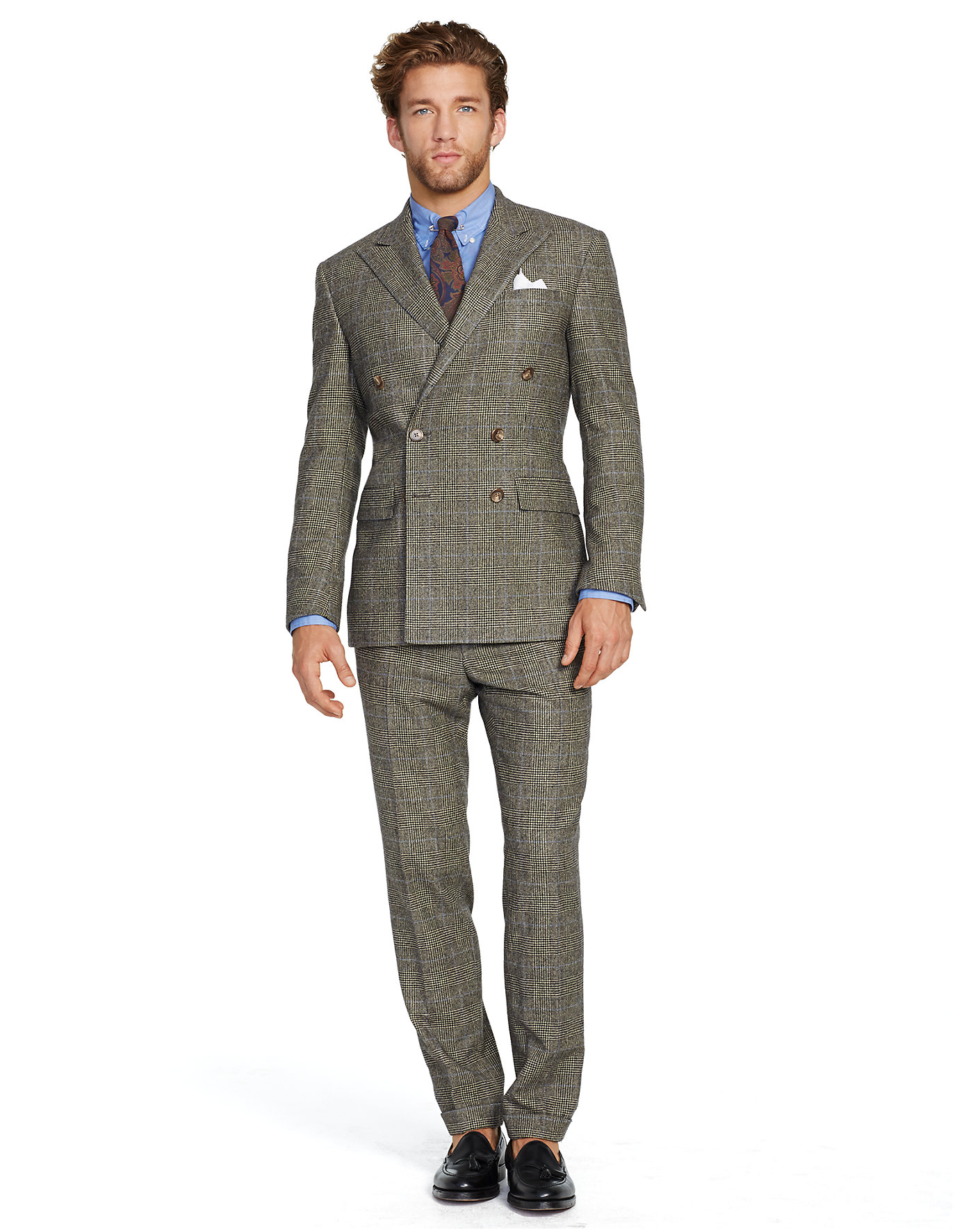 Ralph Lauren Latest Mens Fashion Suits Party Wear Formal Dresses Collection 2014-2015 (9)