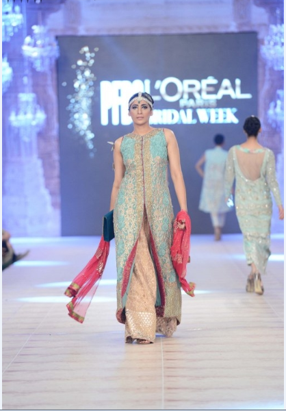 Saira Shakeera Latest Wedding Collections at  PFDC L'Oréal Paris Bridal Fashion Week-2014-2015 (4)