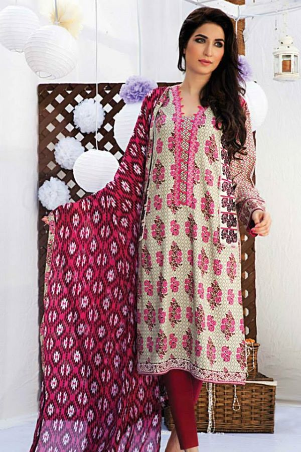 Satrani Bonanza Camric Lawn Winter Collection dresses 2014-2015 (12)