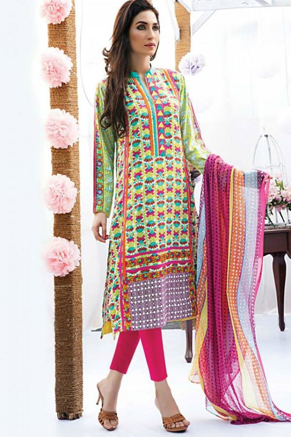 Satrani Bonanza Camric Lawn Winter Collection dresses 2014-2015 (17)