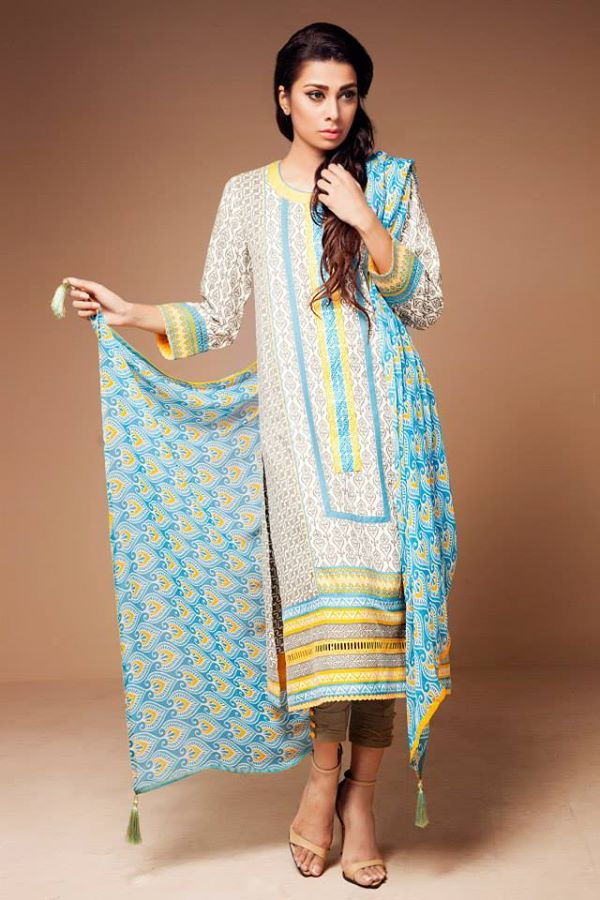 Satrani Bonanza Camric Lawn Winter Collection dresses 2014-2015 (2)