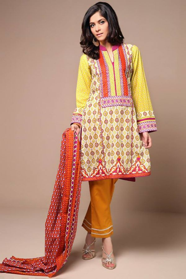 Satrani Bonanza Camric Lawn Winter Collection dresses 2014-2015 (3)