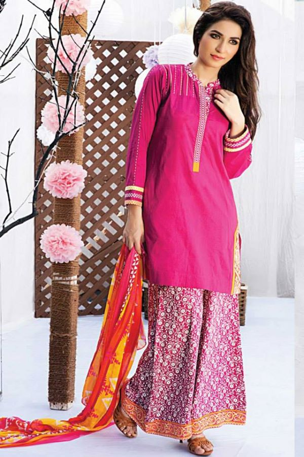 Satrani Bonanza Camric Lawn Winter Collection dresses 2014-2015 (5)