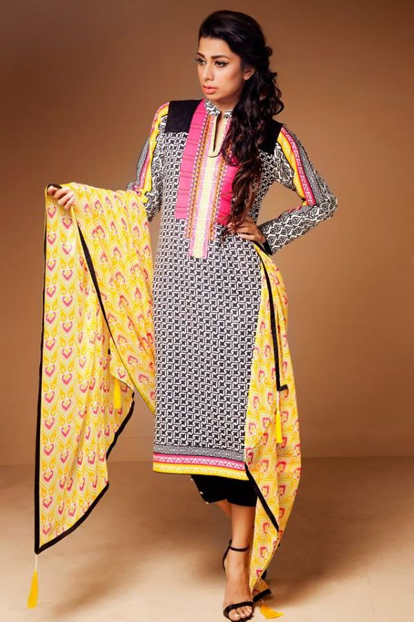 Satrani Bonanza Camric Lawn Winter Collection dresses 2014-2015 (9)