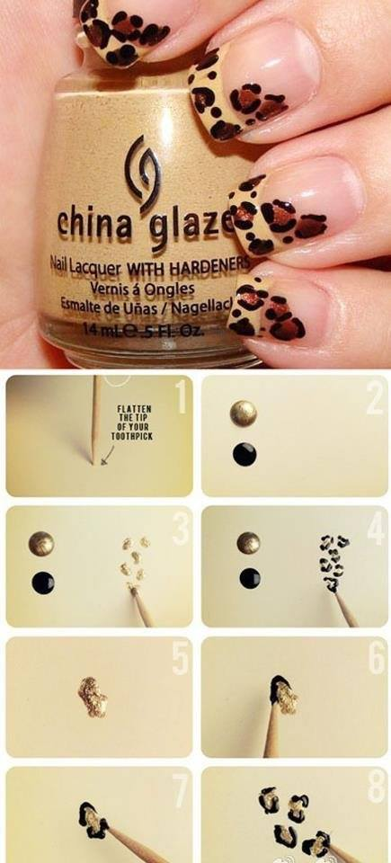 Step by Step Nail Art Picture Tutorial Best and Easy Designs To Try (18)