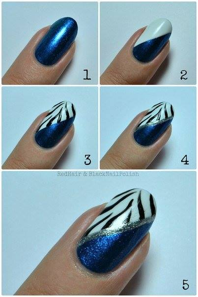 Step by Step Nail Art Picture Tutorial Best and Easy Designs To Try (4)