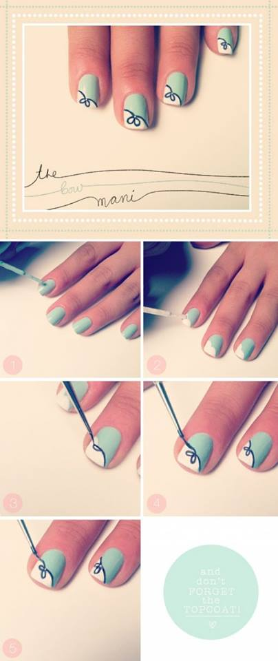 Step by Step Nail Art Picture Tutorial Best and Easy Designs To Try (6)