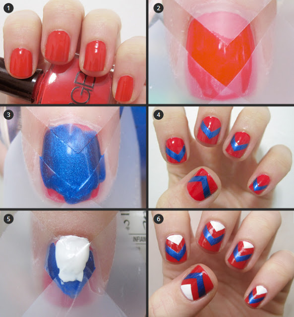 Step by Step Nail Art Picture Tutorial Best and Easy Designs To Try (7)
