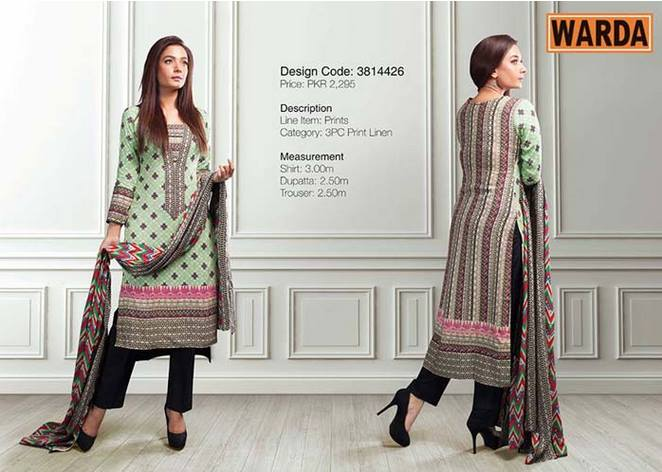 WARDA Designer Ready To Wear Winter Dresses Collection 2014-2015 (11)