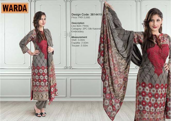 WARDA Designer Ready To Wear Winter Dresses Collection 2014-2015 (13)