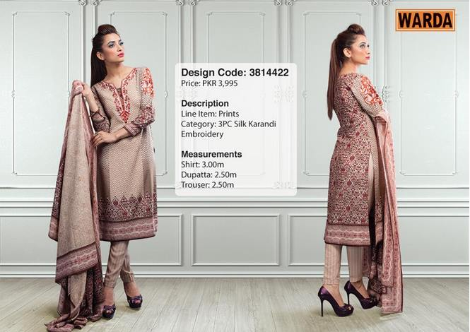 WARDA Designer Ready To Wear Winter Dresses Collection 2014-2015 (14)