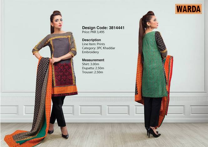 WARDA Designer Ready To Wear Winter Dresses Collection 2014-2015 (17)