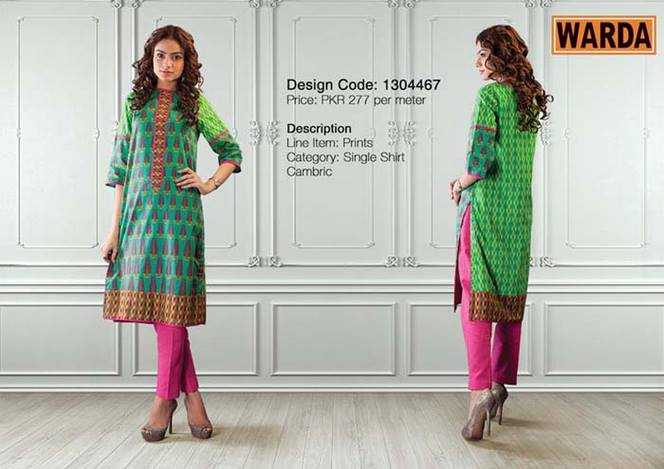 WARDA Designer Ready To Wear Winter Dresses Collection 2014-2015 (22)