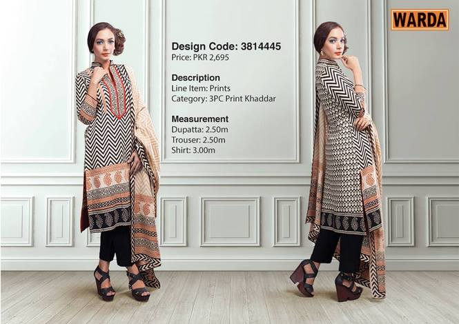 WARDA Designer Ready To Wear Winter Dresses Collection 2014-2015 (23)