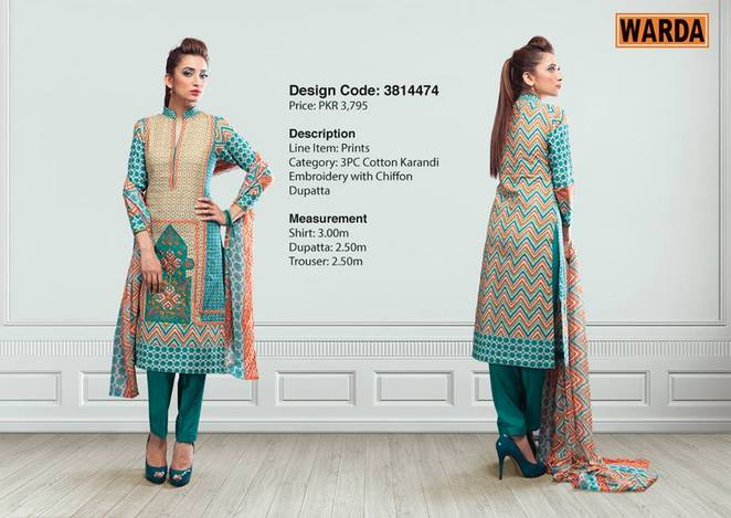WARDA Designer Ready To Wear Winter Dresses Collection 2014-2015 (3)
