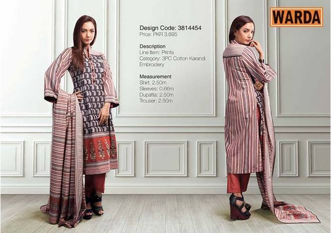 WARDA Designer Ready To Wear Winter Dresses Collection 2014-2015 (5)