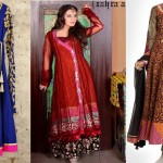 Latest Angrakha Style Dresses Designs 2017-2018 Collection
