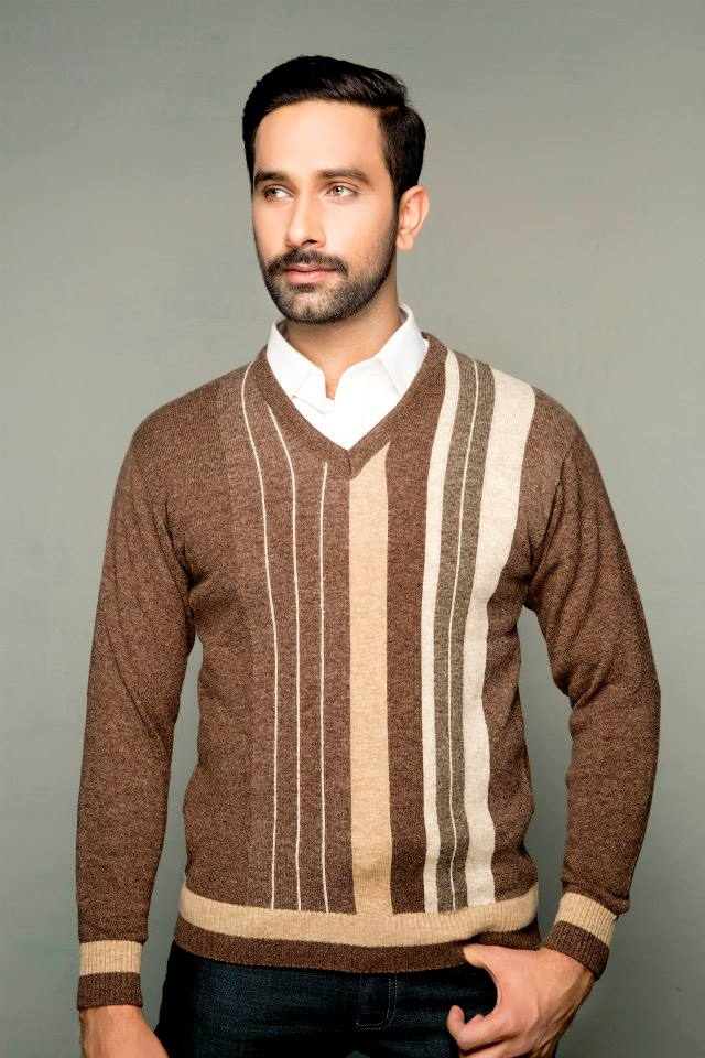 Bonanza Latest Winter Sweaters, Jackets & Coats Collection 2014-2015 for Men & Boys (11)