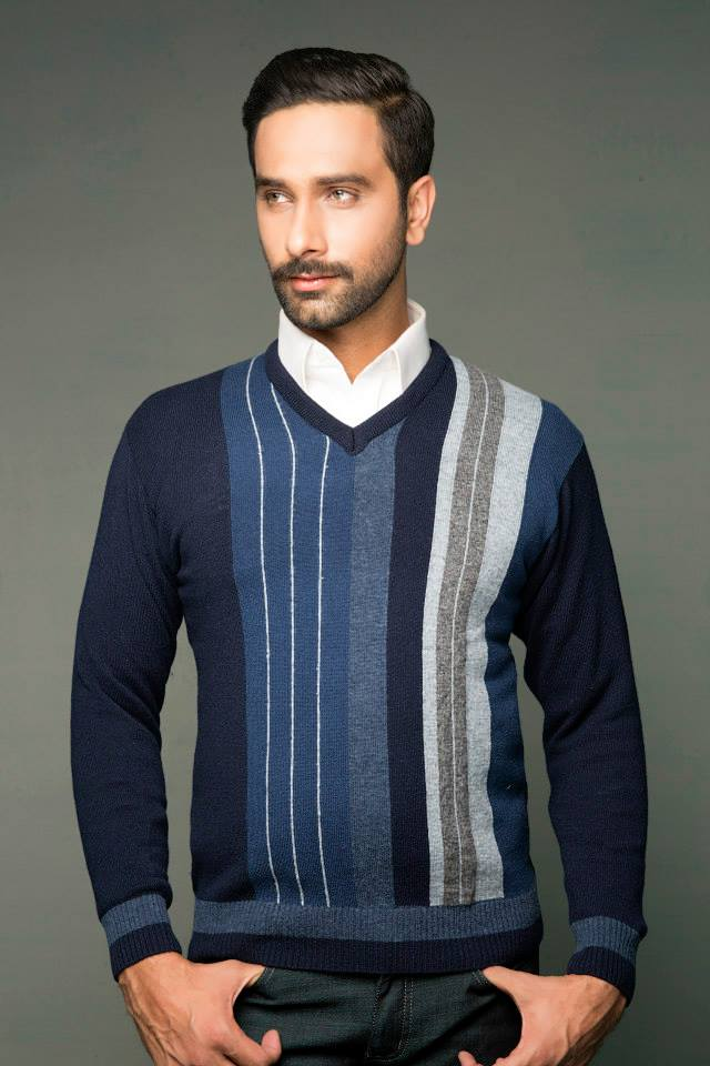 Bonanza Latest Winter Sweaters, Jackets & Coats Collection 2014-2015 for Men & Boys (12)
